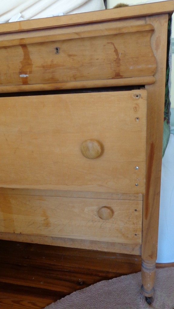 wood dresser