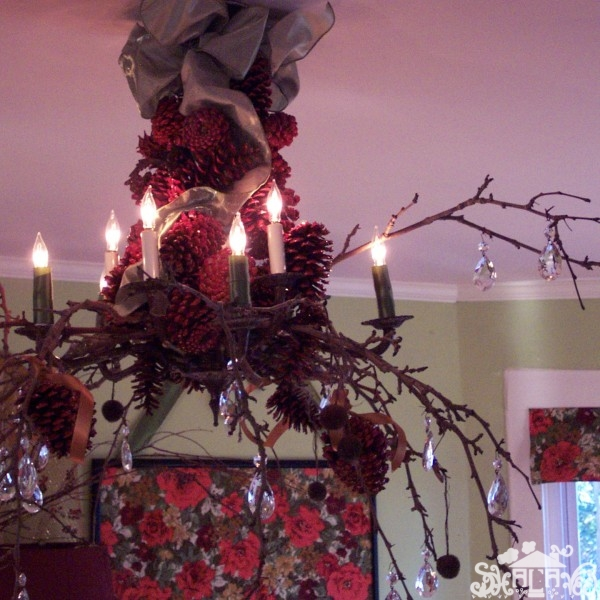 Dining Room Christmas Decorations