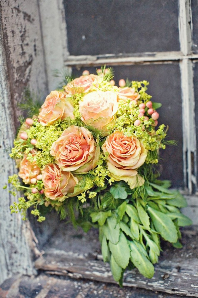 French country boquet in window by laura dowling from www.shalavee.com