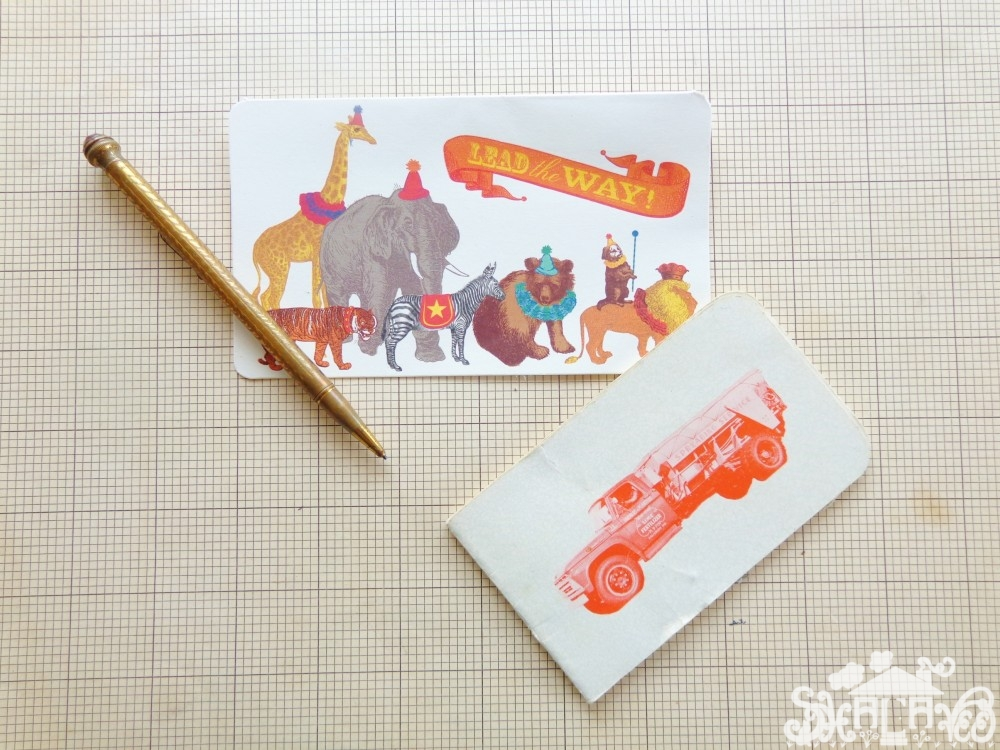 card and pencil