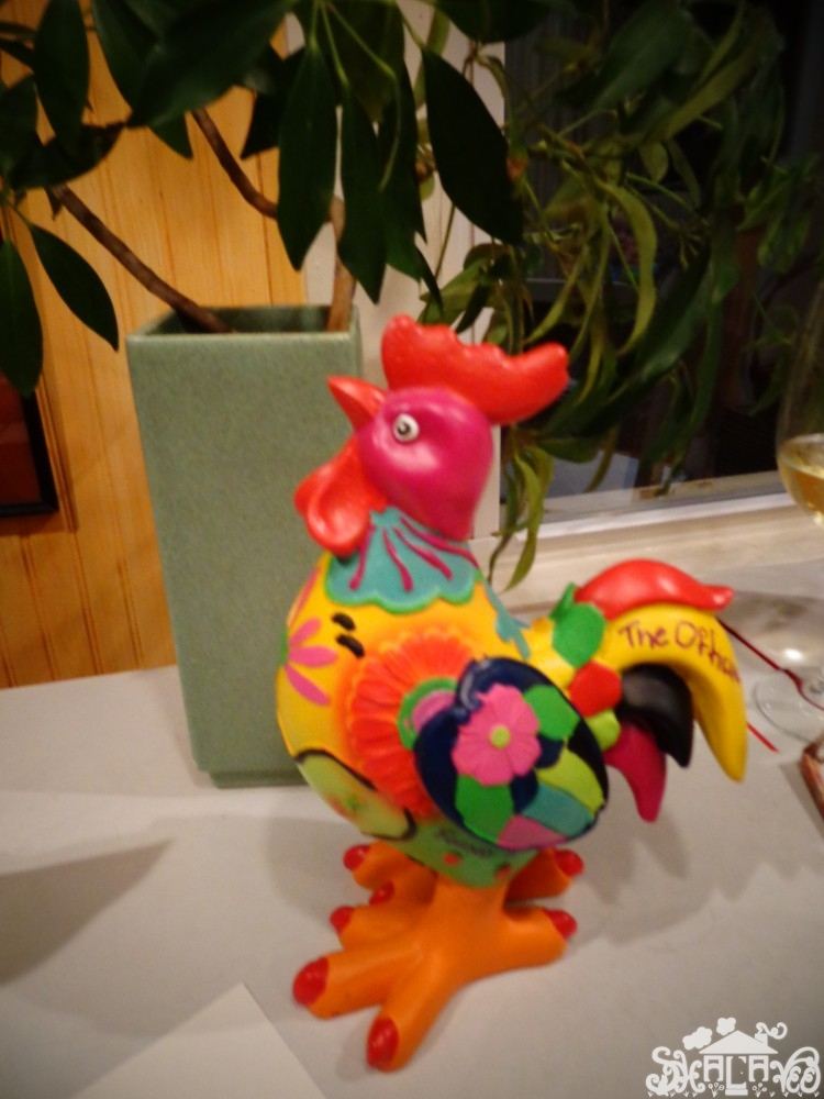 the Easter chicken