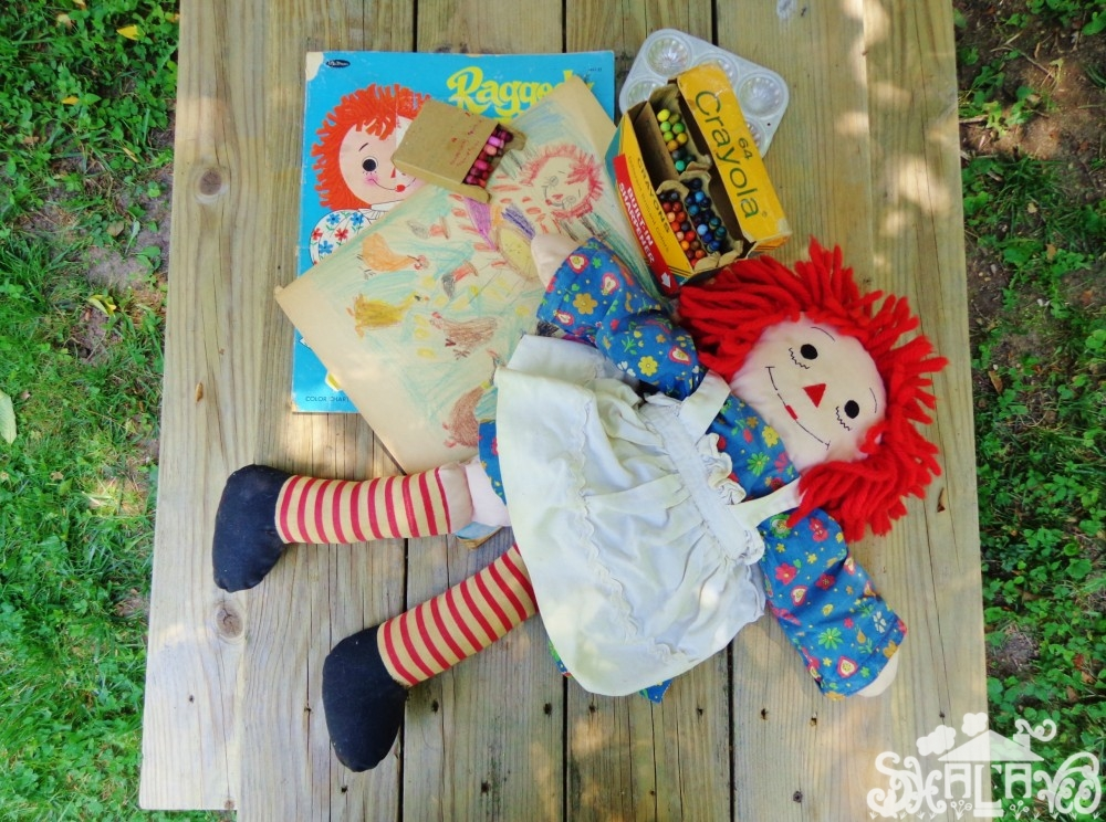 Nostalgia and #RaggedyAnn from Shalavee.com