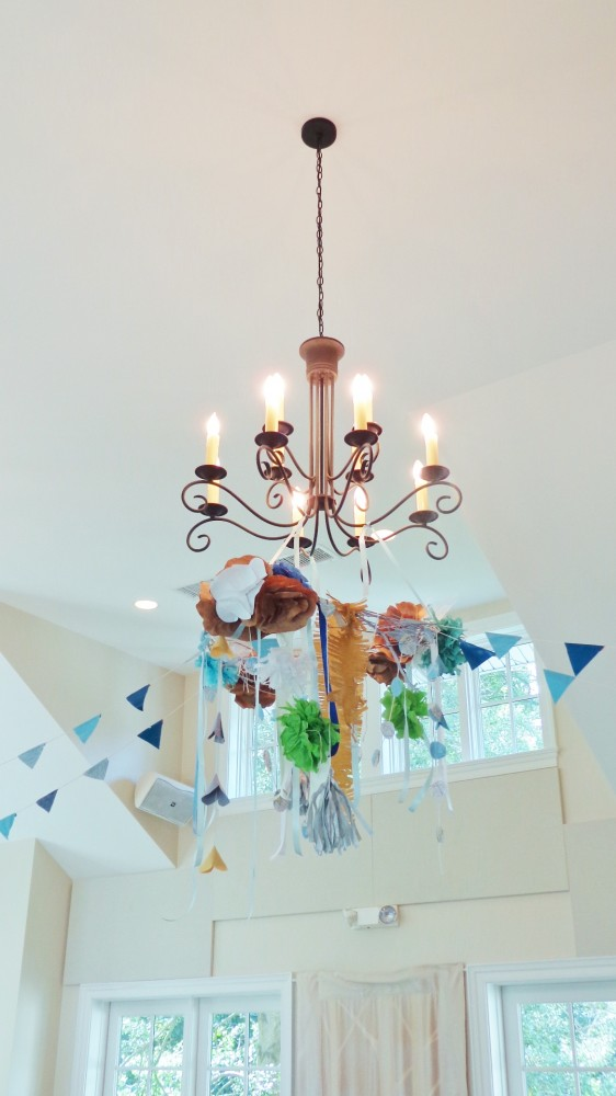 My paper chandeliers on Shalavee.com
