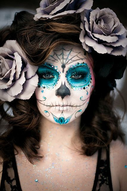 day of the dead make up on Shalavee.com