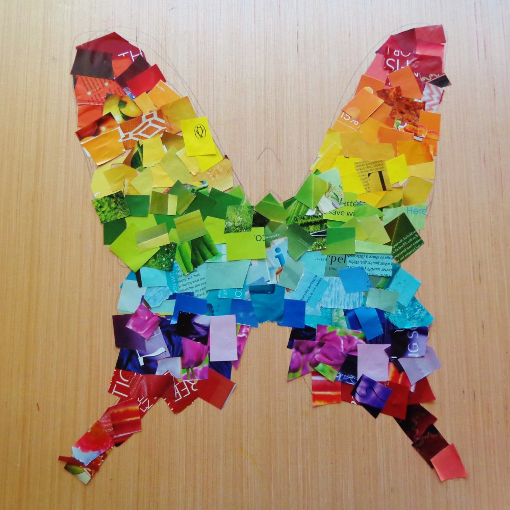 Mosaic butterfly on Shalavee.com