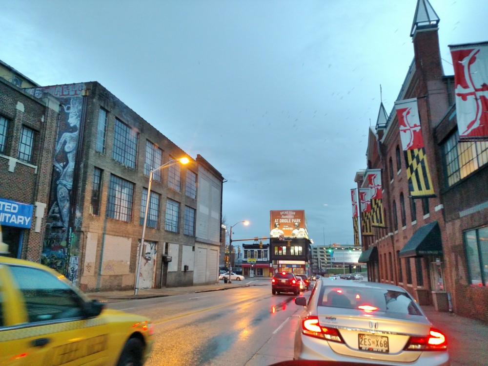The city I grew up in Baltimore on Shalavee.com